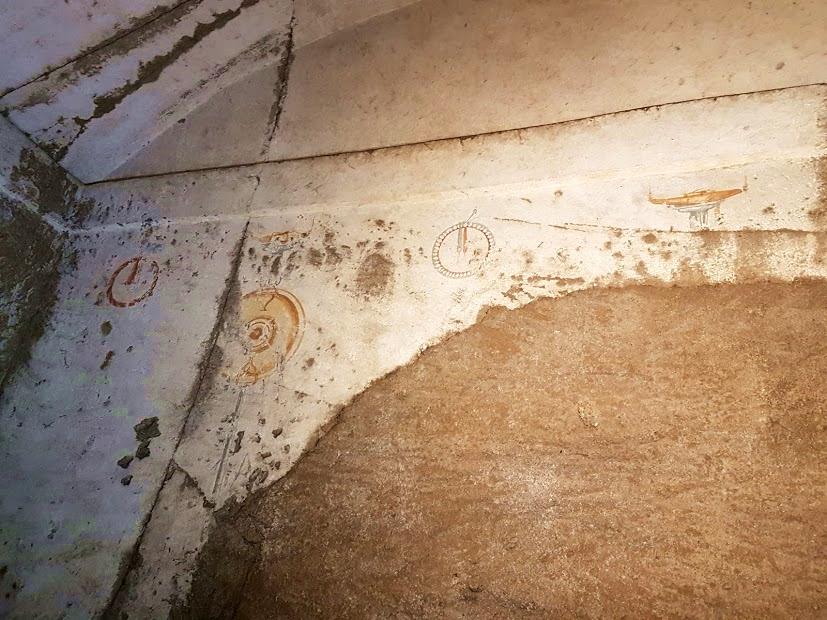 Particolare del vano con tracce di affreschi - Image courtesy by Marco Placidi ©