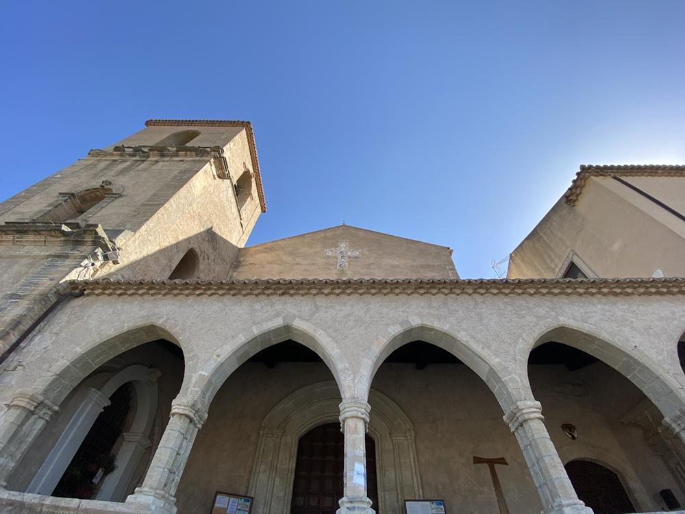 Facciata del complesso monastico di S. Bernardino ad Amantea - Ph.