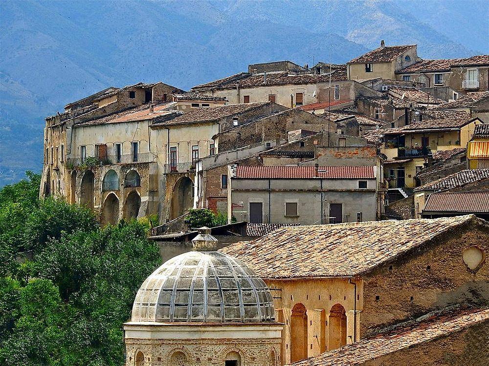 Scorcio del centro storico di Castrovillari (Cs) - Ph. Stefano Contin