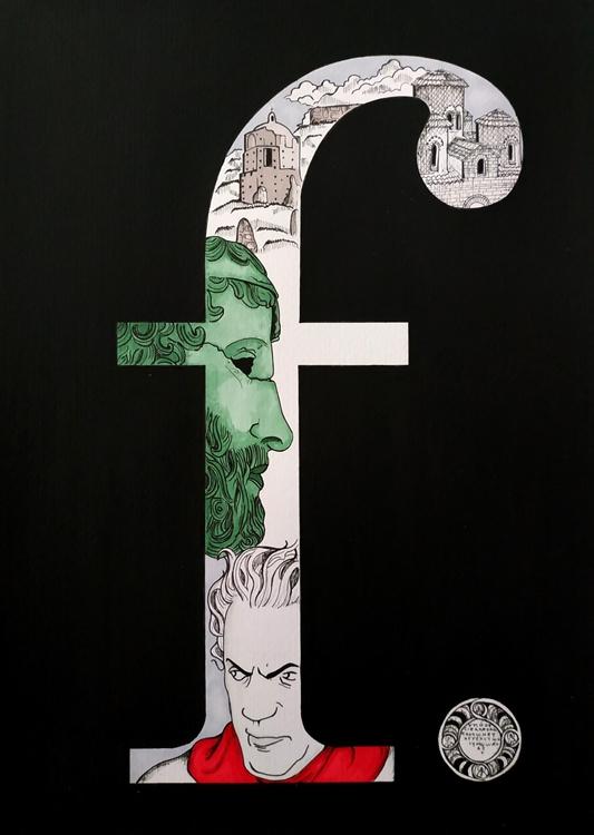 Omaggio a F. Fellini © Angelo Ventimiglia