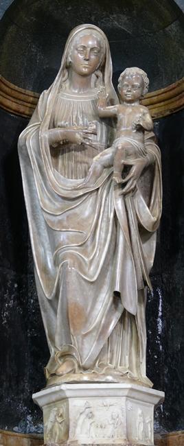 G. B. Mazzolo, Madonna delle Grazie, chiesa di San Nicola a Galatro (Reggio Calabria)