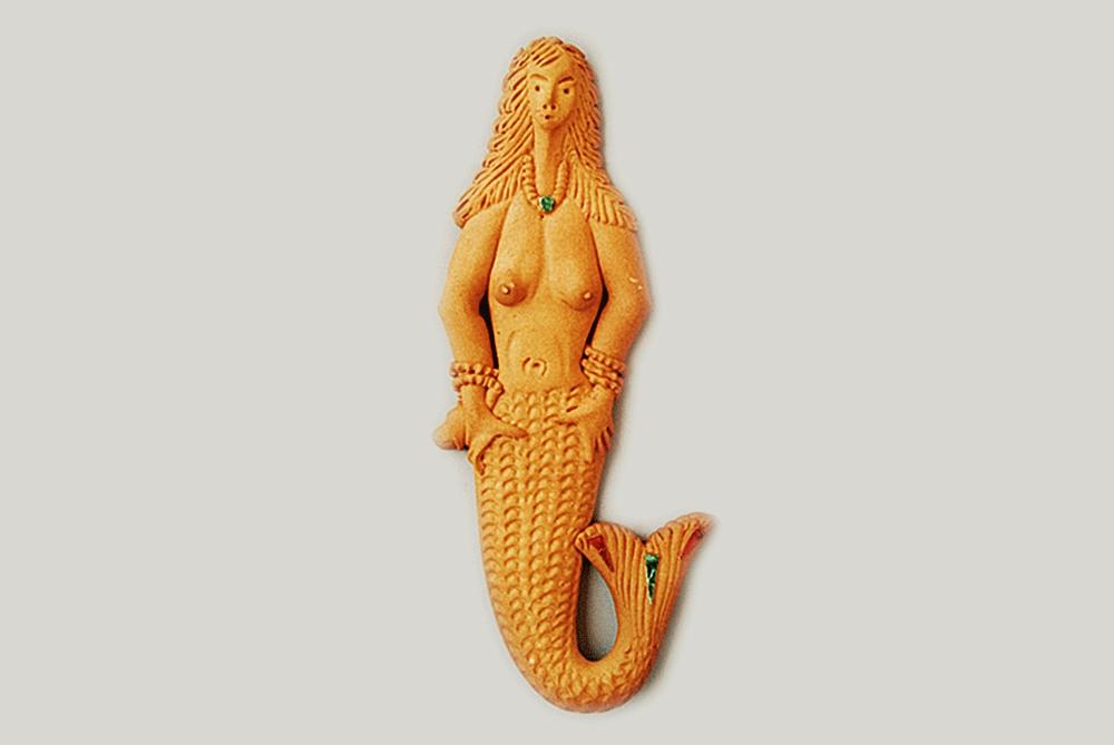 Mostacciolo di Soriano Calabro a forma di sirena - Image by