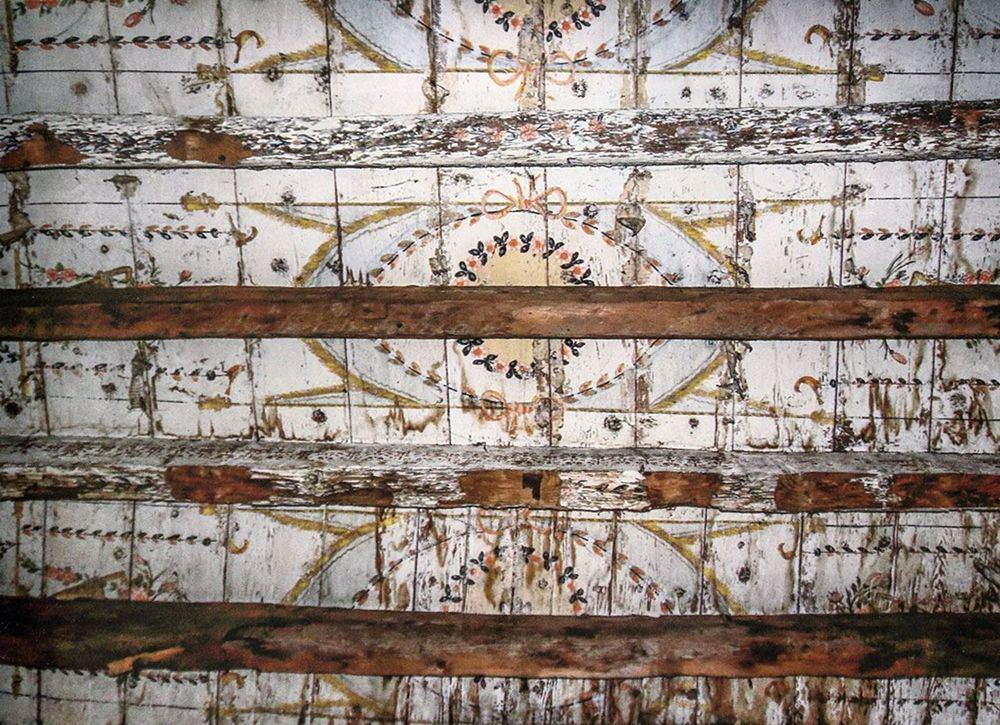 Palazzo Salituri alla Giudeca, part. della decorazione del soffitto di una sala