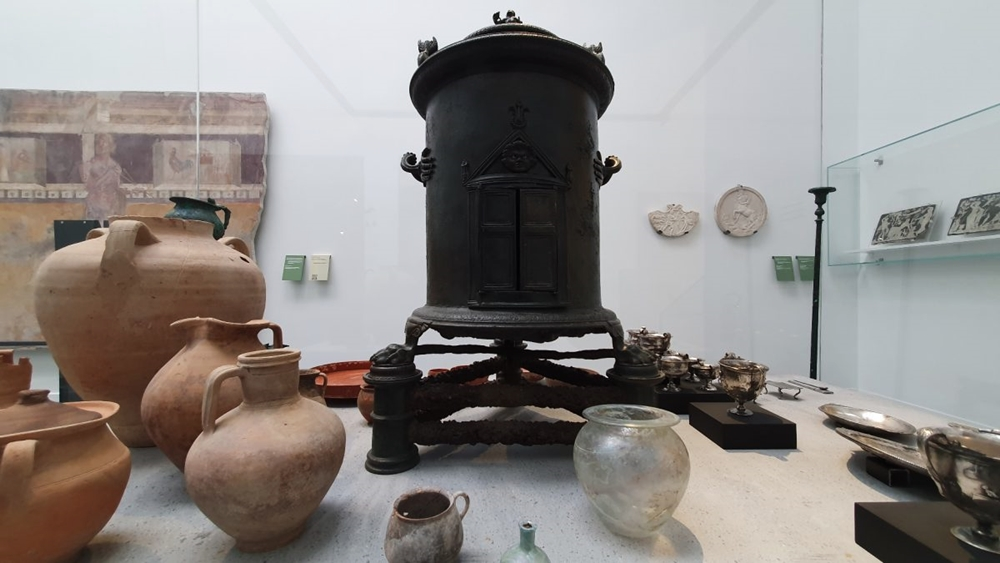 Antiquarium - Courtesy MIBACT /Parco Archeologico di Pompei
