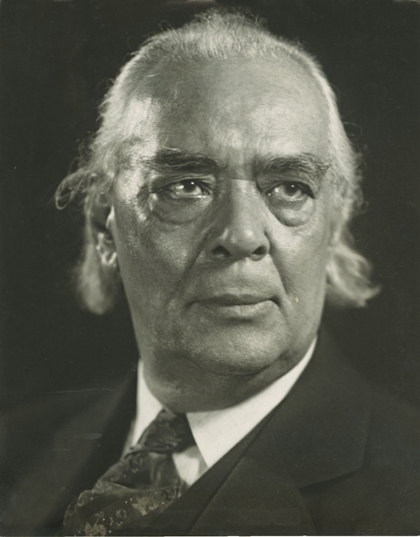 L'attore Richard B. Harrison ritratto da A. Valente. 1934