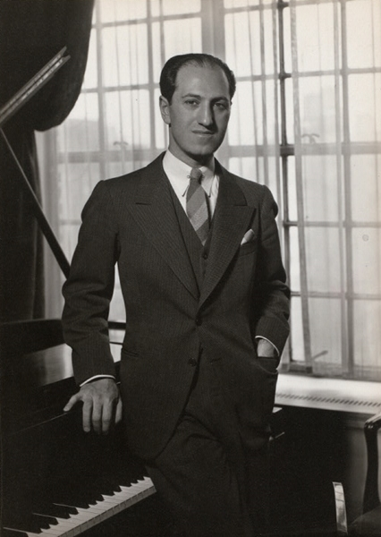 Il compositore George Gershwin | Ph. A. Valente, Billy Rose Theatre Division, The New York Public Library Digital Collections