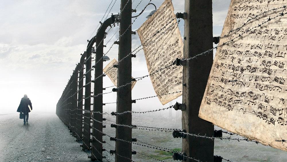Francesco Lotoro ad Auschwitz
