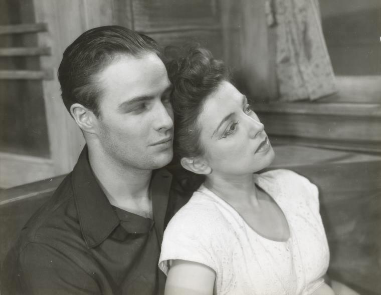 Marlon Brando e Ann Shepherd a teatro in Truckline Cafe, 1946 | Billy Rose Theatre Division, The New York Public Library