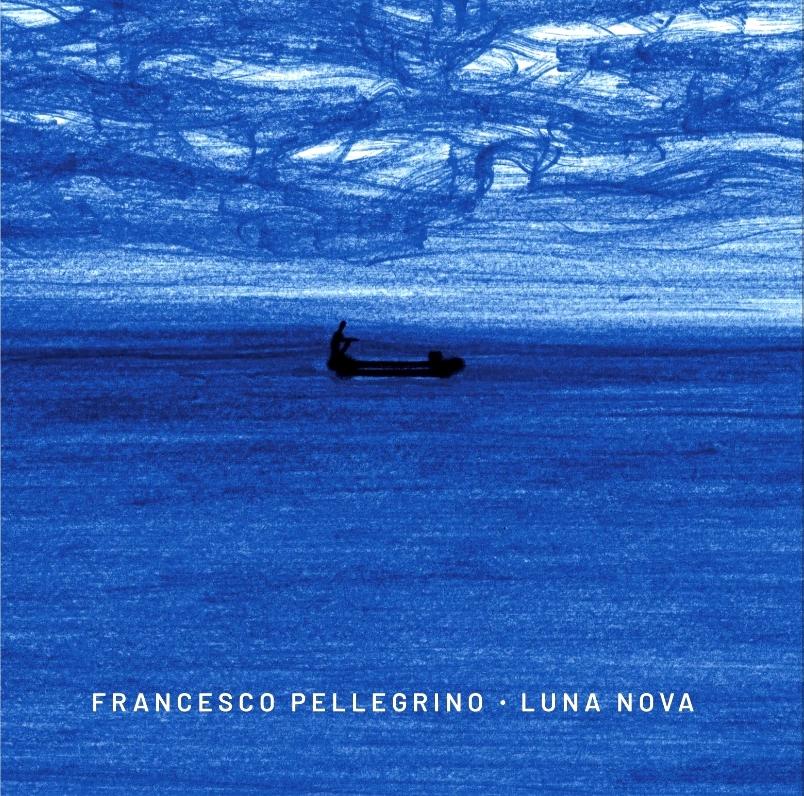 Luna Nova: la copertina dell'album solista di Francesco Pellegrino. L'immagine è un dipinto di Christophe Mourey