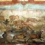 Pompei, Casa dei Ceii: torna a risplendere l'affresco del giardino