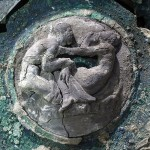 An intact ceremonial chariot with erotic scenes was discovered in Pompeii