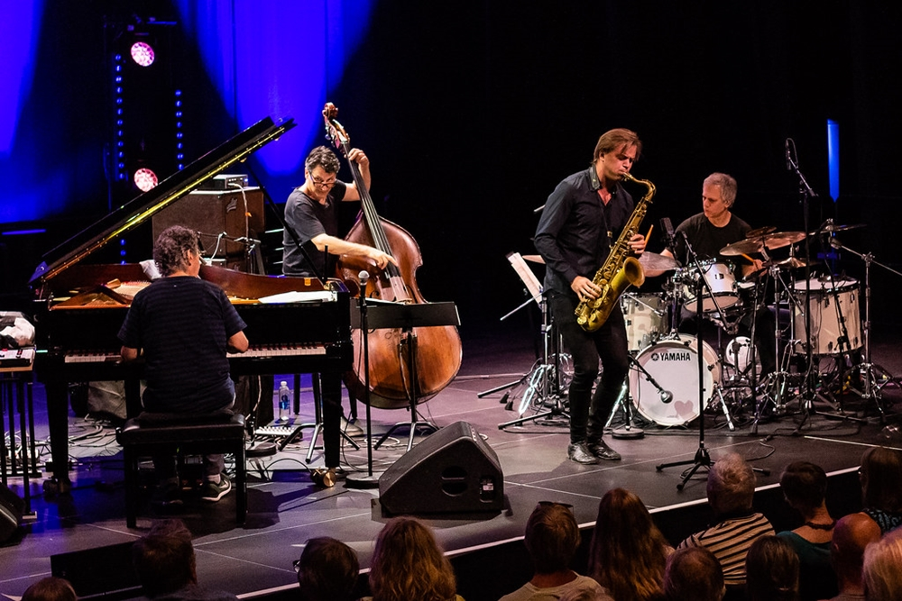 Chick Corea Akoustic Band (con Chick Corea, John Patitucci, Dave Weckl e Marius Neset (guest artist), Kongsberg Jazzfestival 2018 - Ph. Birgit Fostervold