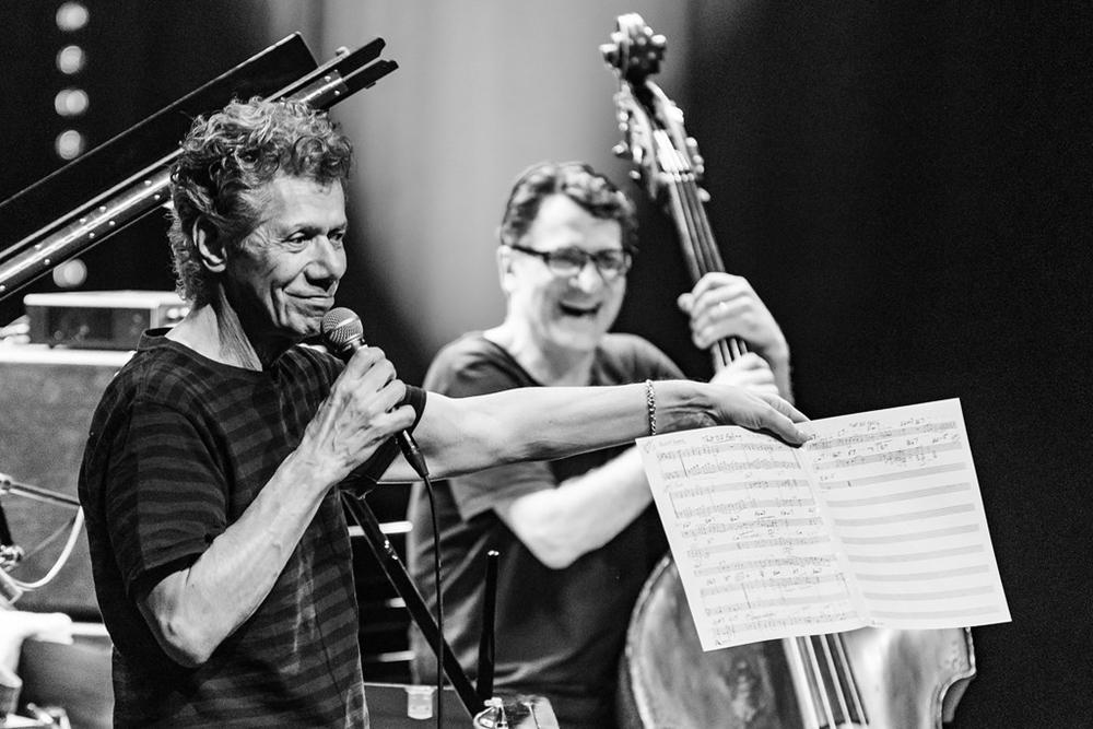 Chick Corea con il bassista e contrabbasista John Patitucci al Kongsberg Jazzfestival 2018| Ph. Birgit Fostervold