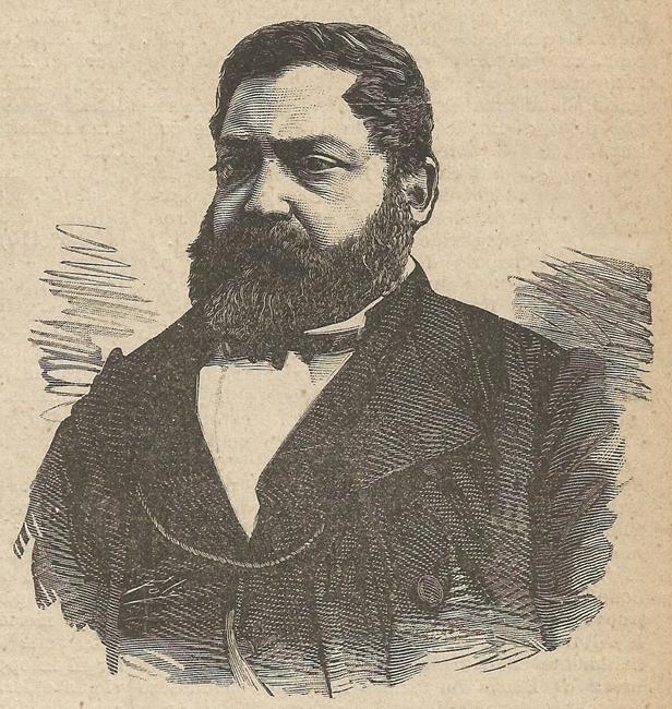 Domenico Mauro in una incisione di fine '800