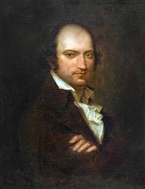 Joseph-Benoît Suvée (attr.), Ritratto di André Chenier, Musée des Beaux-Arts de Carcassonne