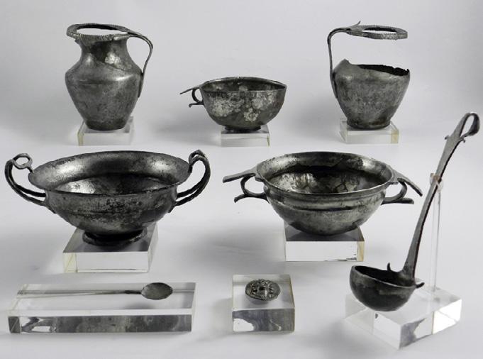 Gli argenti ritrovati nei pressi di Palmi (RC), Museo Archeologico Nazionale, Reggio Calabria