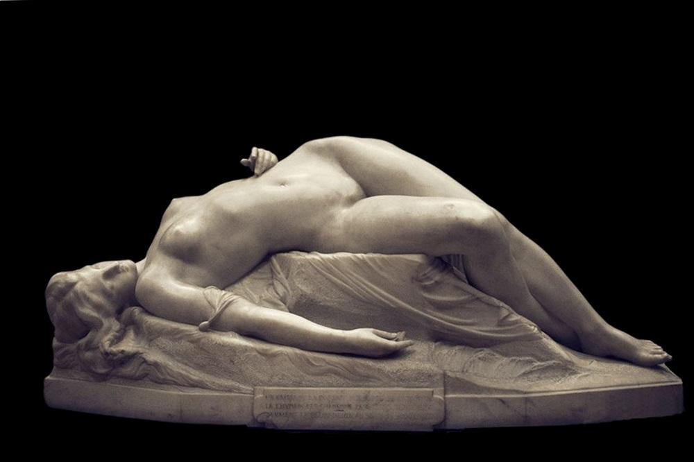 Alexandre Schoenewerk, La Jeune Tarantine, marmo, 1871, Musée d'Orsay, Parigi
