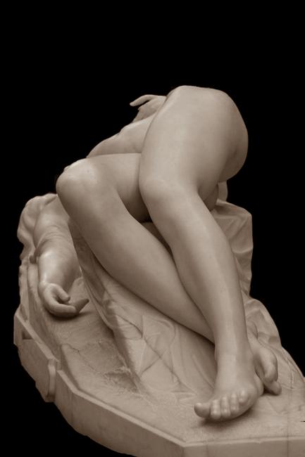 Alexandre Schoenewerk, La Jeune Tarantine (part.), marmo, 1871, Musée d'Orsay, Parigi