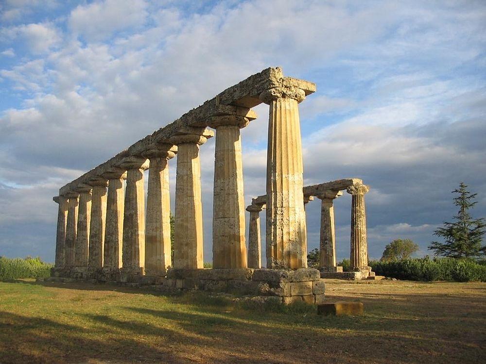 I resti del tempio di Hera a Metaponto - Ph.