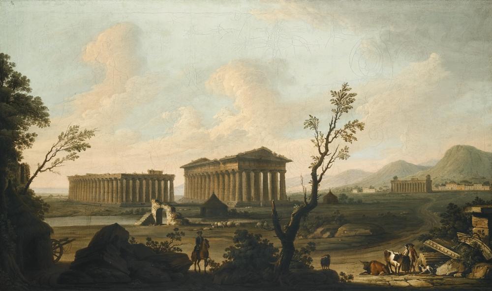 Pietro Fabris, Templi di Paestum, 1761 c.