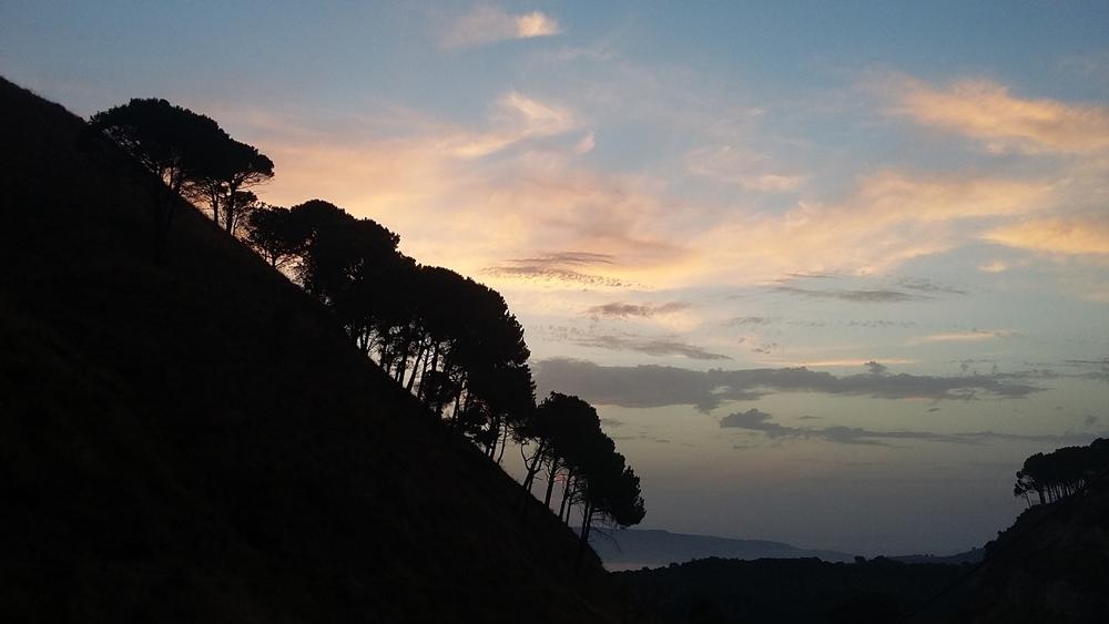 Pendici montuose nei pressi di Reggio Calabria - Ph. Raphaël Vandeberg