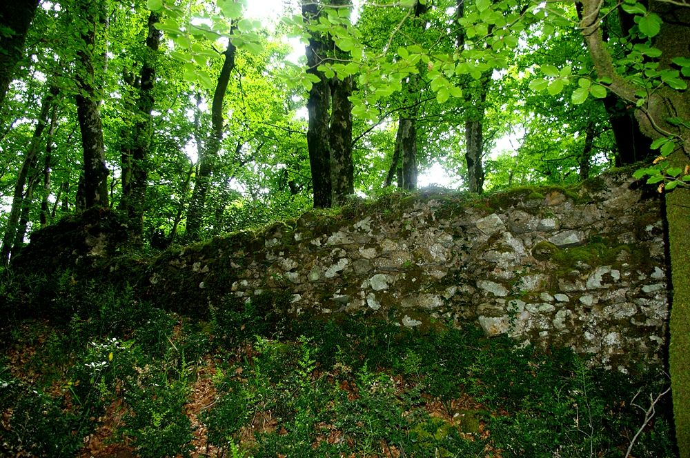 Resti di fortino greco in loc. Palazzo, Aspromonte - Ph. Lino Licari