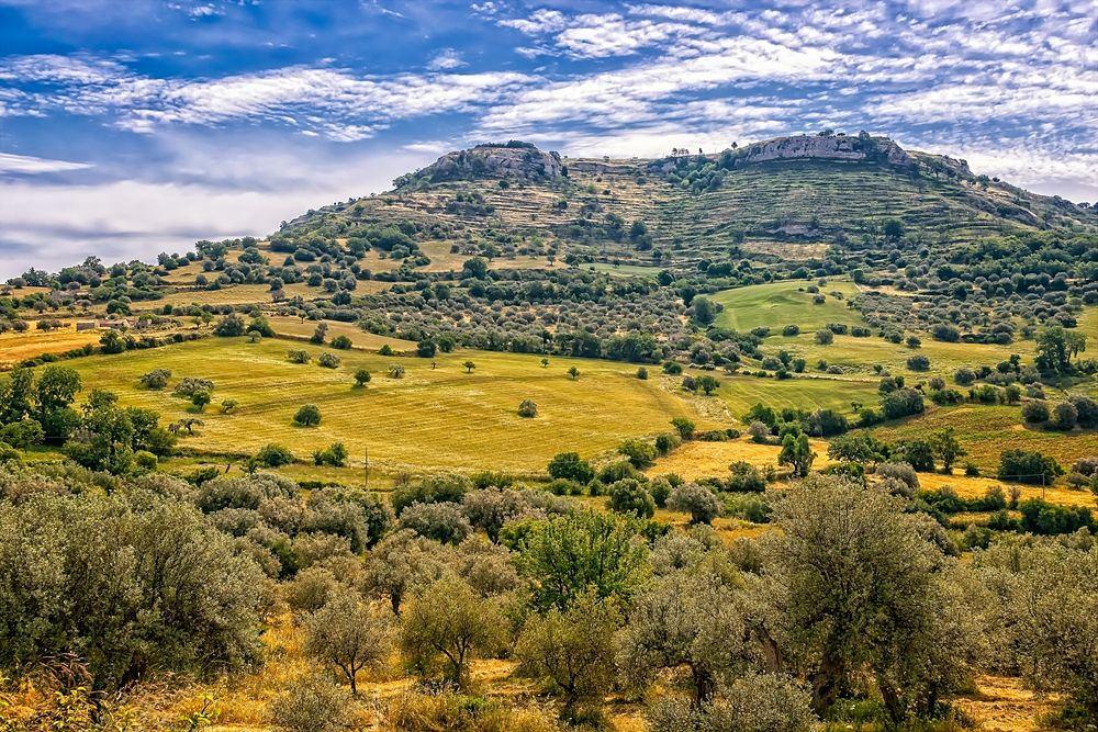 Scorcio della Sicilia interna