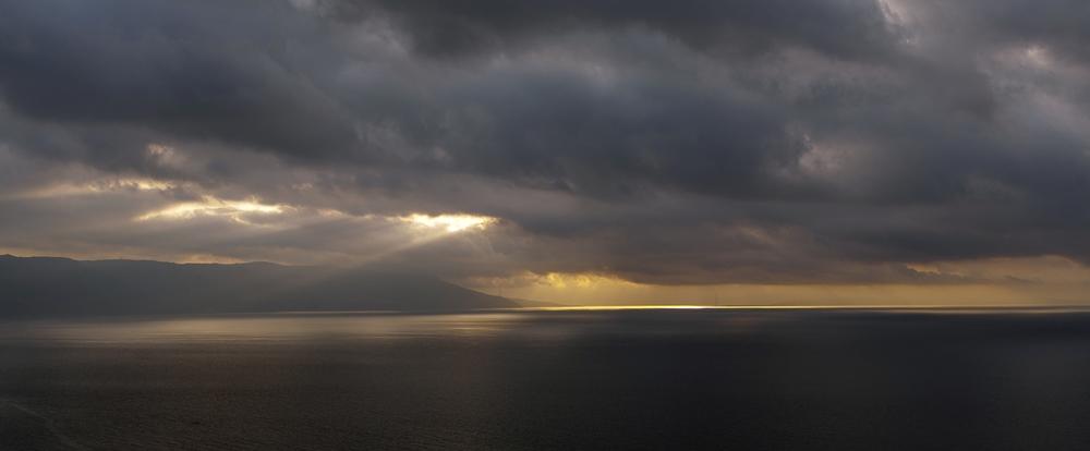 Lo Stretto di Messina d'inverno - Image courtesy of Aurelio Candido