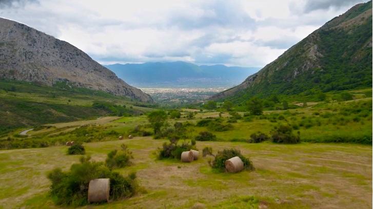 Scorcio del Vallo di Diano, l'antico Campo Atinate