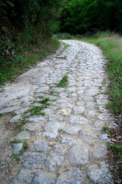 Scorcio della via Annia-Popilia nel tratto tra Melia e Solano. Questa strada fu evitata dai ribelli perchè presidiata dai Romani - Ph. Lino Licari