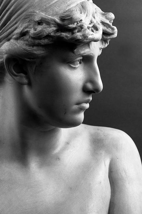 Francesco Jerace, Victa, marmo, XIX sec.