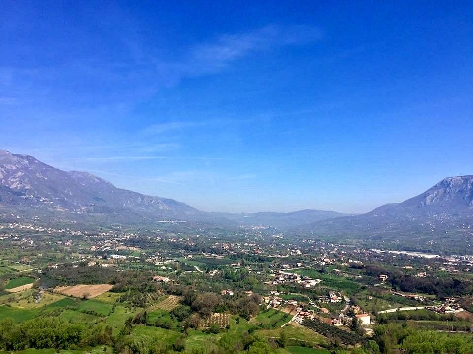 Area pianeggiante nei pressi di Oliveto Citra (Sa) presunto teatro della battaglia finale