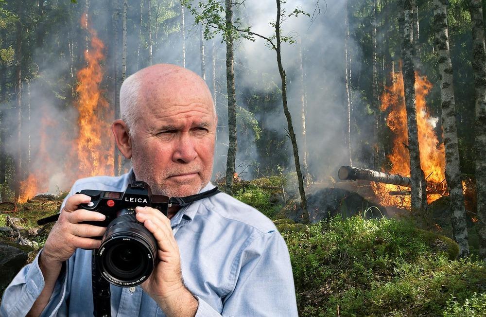 Il fotografo americano Steve McCurry