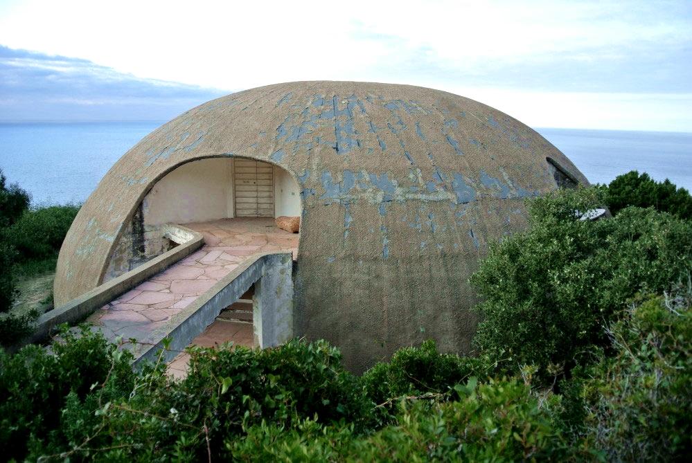 La Cupola di Dante Bini in Costa Paradiso, Gallura