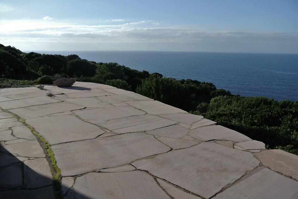 Vista dal patio della villa - Courtesy of Sardegna Abbandonata