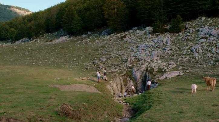 L'accesso all'Abisso del Bifurto in una scena del film