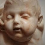 Caserta: dai depositi della Reggia riemerge un sublime bambino del Sanmartino, autore del Cristo Velato