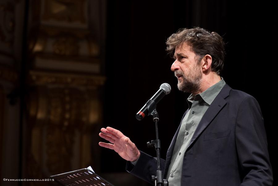 Puglia - Il regista Nanni Moretti ospite del Bif&st, Teatro Petruzzelli, Bari – Ph. © Ferruccio Cornicello
