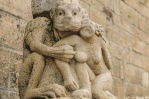Cattedrale di Acerenza: scultura allegorica - Ph. © Ferruccio Cornicello