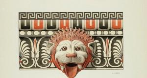 Quando i templi greci erano a colori…Le splendide protomi leonine di Kaulonia