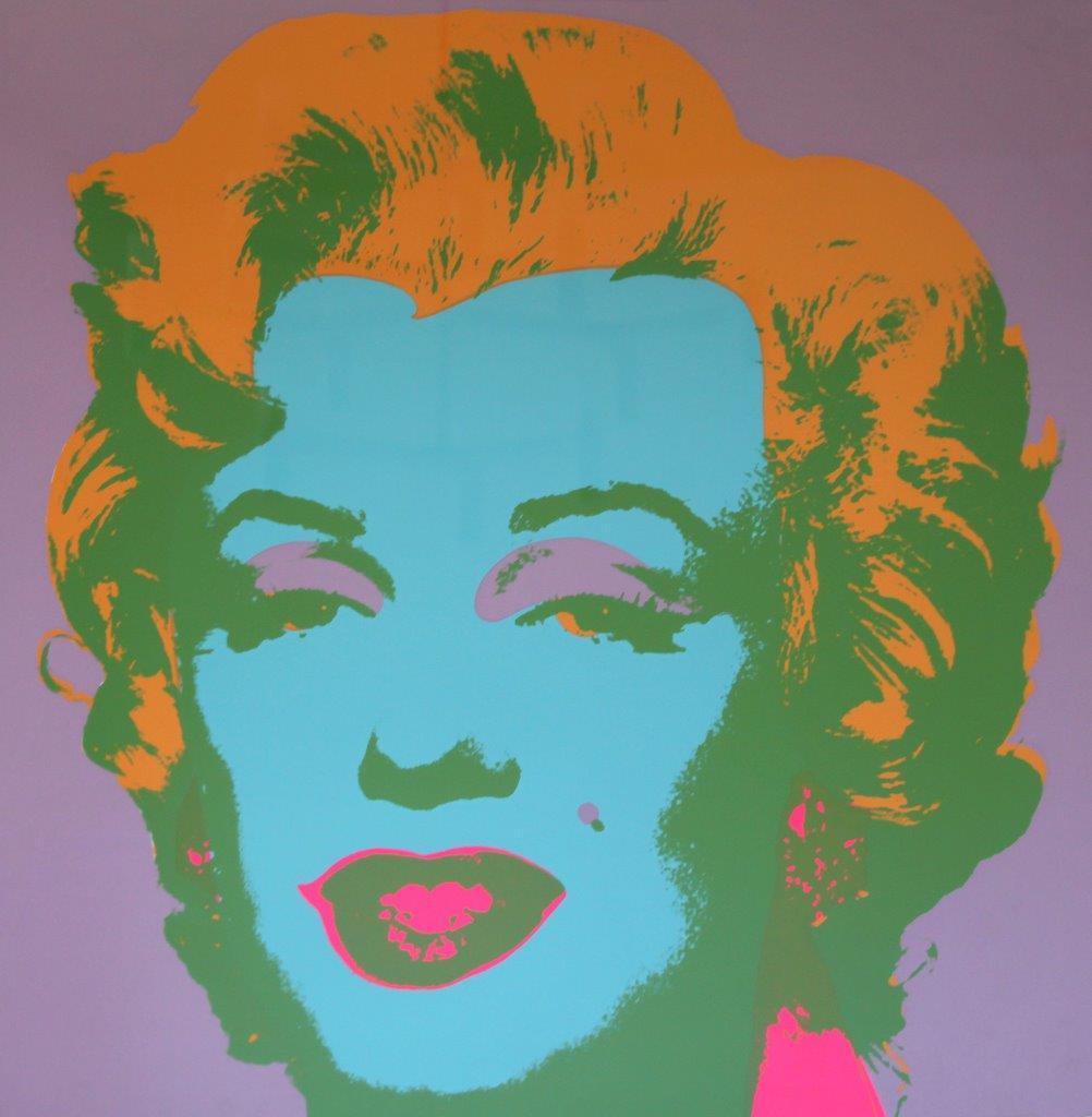 ANDY-WARHOL-Marilyn-Monroe-Marilyn-1967-serigrafia-74di250-cm-914-x-914-Collezione-Tommaso-Tammone-Potenza