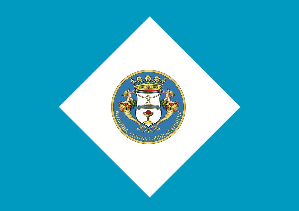 """La nuova bandiera """"identitaria"""" di Corigliano Calabro (Cosenza)"""
