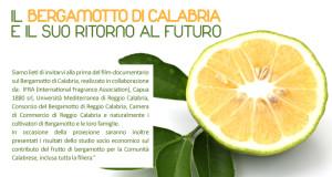 Proiezione a Reggio Calabria del primo film-documentario sul bergamotto di Calabria