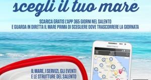 365 giorni nel Salento. Una app per avere il Tacco d'Italia in palmo di mano. In diretta streaming le condizioni del mare
