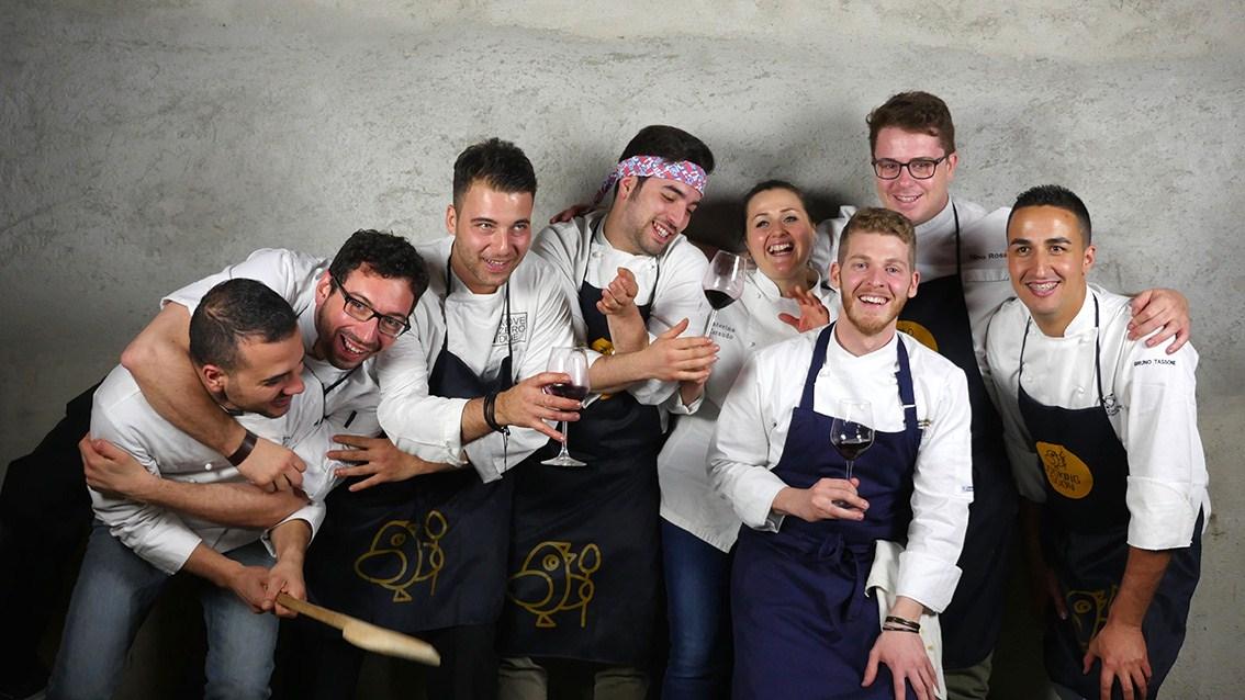 Gli 8 chef del progetto Cooking Soon - Ph. Manuela Laiacona
