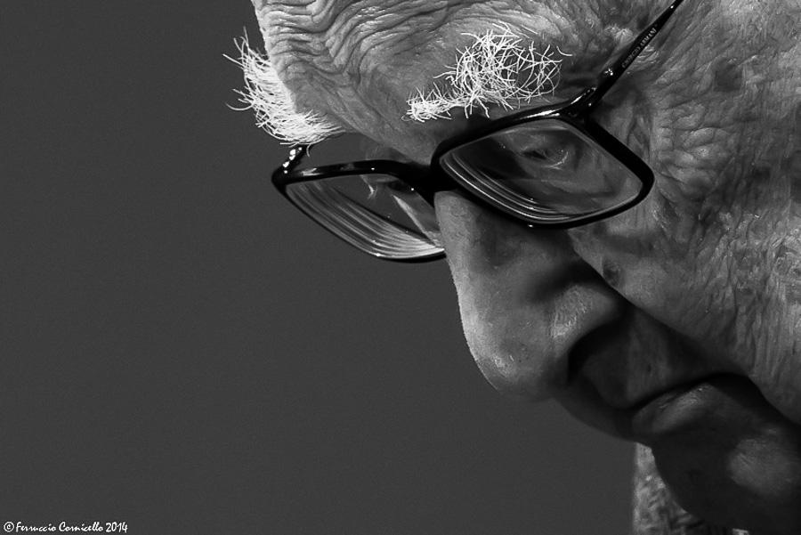 Lo scrittore siciliano Andrea Camilleri - Ph. Ferruccio Cornicello