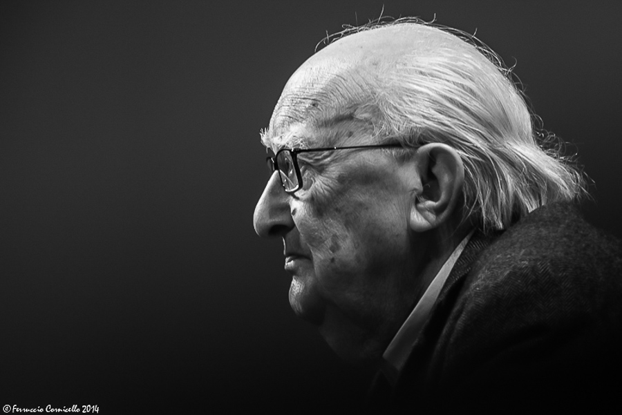 Lo scrittore siciliano Andrea Camilleri - Ph. © Ferruccio Cornicello