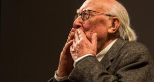 Bif&st 2014. Intelligenza, onestà intellettuale, humour: l'incontro indimenticabile con Andrea Camilleri. A lui uno dei Premi Fellini per l'Eccellenza Artistica