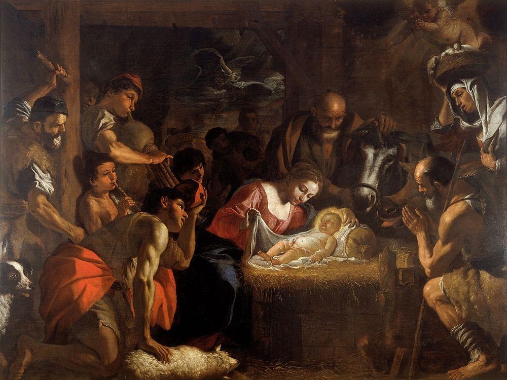 Mattia Preti - Adorazione dei Pastori, 1660 - 1699 - Walker Art Gallery, Liverpool, UK