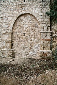 Porta San Lorenzo o Pizzoli dopo i lavori di restauro - Ph. Soprintendenza Unica Archeologia, Belle Arti e Paesaggio per la città dell'Aquila